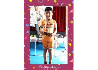 Shourya Singh of Class – II-A won three Bronze Medals in Delhi State Skating Championship.